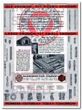 Baash-Ross Tool Company 1934 Vintage Ad Oil Old Enough Large Enough