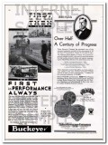 Buckeye Traction Ditcher Company 1934 Vintage Ad First Oil Field