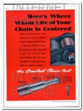 Chain Belt Company 1934 Vintage Ad Oil Fields Greatest Ever Hit