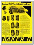 Baker Oil Tools Inc 1934 Vintage Ad Oilfield History 27 Years Helped