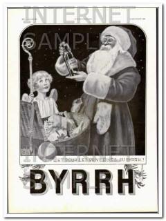 byrrh 1931 pour les privilegies christmas french leonnec vintage ad