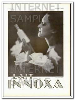 lait innoxa 1931 french beauty cream photo regis lebrun vintage ad