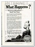 Humble Oil Refining Company 1927 Vintage Ad Lubricant Your Machinery