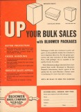 Bloomer Bros Company 1951 Vintage Ad Ice Cream Bulk Sales Packages Up