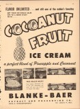 Blanke-Baer Extract Preserving Company 1951 Vintage Ad Ice Cream Fruit