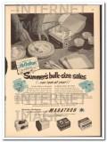 Marathon Corp 1951 Vintage Ad Ice Cream Carton Summers Bulk Size Sales