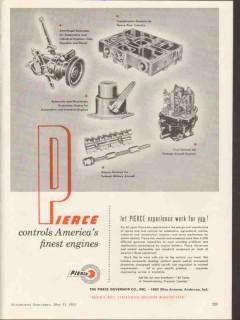pierce governor company 1953 controls finest engines vintage ad