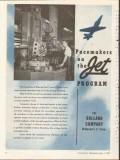 bullard company 1953 jet program vertical turret lathe vintage ad