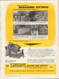 lapointe machine tool company 1953 broaching fixtures vintage ad