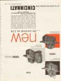cincinnati milling machine company 1953 new model 2-24 tool vintage ad