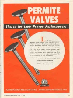 aluminum industries inc 1953 permite valves performance vintage ad