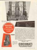 cincinnati milling machine company 1953 broaching the ears vintage ad