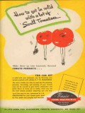 basic food materials 1946 how to get in solid swell tomatoe vintage ad
