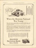 houston national bank 1931 founded 1876 when was young vintage ad
