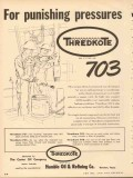 Humble Oil Refining Company 1953 Vintage Ad Thredkote 703 Pressures