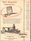 Magnet Cove Barium Corp 1953 Vintage Ad Magcobar Mud Coming Up Heavy