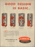 Larkin Packer Company 1953 Vintage Ad Oil Field Floating Guiding Basic