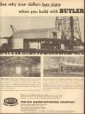 Butler Mfg Company 1953 Vintage Ad Oil Field Steel Buildings Buy More
