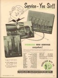 Peerless Mfg Company 1953 Vintage Ad Oil Gas Refinery Service Yes Sir