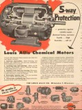 louis allis company 1953 5 way protection chemical motors vintage ad