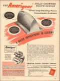 american flexible coupling company 1953 crown tooth design vintage ad
