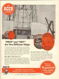 American Chain Cable 1953 Vintage Ad Oil Price Cost Different Things