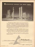 J F Pritchard Company 1953 Vintage Ad Gas Industry Experience Pupil