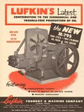 Lufkin Foundry Machine Company 1953 Vintage Ad Oil Field Engine Latest
