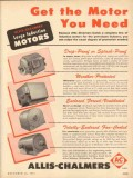 allis-chalmers 1953 get the large induction motor you need vintage ad