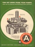 American Iron Machine Works 1953 Vintage Ad Oil More From Your Pumps