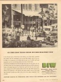 Beaumont Iron Works Company 1953 Vintage Ad Oil In East Texas Field