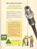 Continental Supply Company 1953 Vintage Ad Oil Sucker Rod No Boast