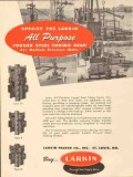 Larkin Packer Company 1953 Vintage Ad Oil Field Forged Steel Tubing