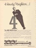 krld tv 1965 dallas tx howdy neighbor the merv griffin show vintage ad