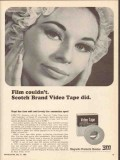 3m magnetic products 1965 kprc film scotch brand video tape vintage ad