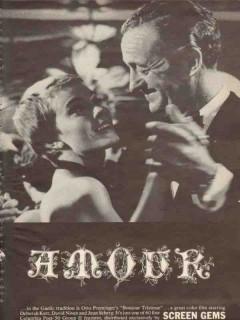 bonjour tristesse 1965 deborah kerr david niven jean movie vintage ad