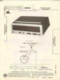 magnavox model 90as189 90as144 am fm clock radio sams photofact manual