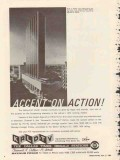 krld tv 1965 dallas ft worth tx channel 4 accent on action vintage ad