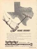 krld tv 1965 dallas ft worth tx channel 4 name brand vintage ad