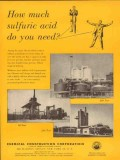 chemical construction corp 1953 how much sulfuric acid vintage ad