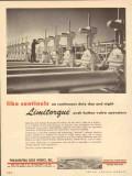 Philadelphia Gear Works 1953 Vintage Ad Oil Field Push Button Valve