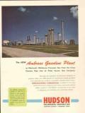 Hudson Engineering Corp 1953 Vintage Ad Ambrose Gasoline Plant