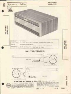 bell sound model 2441 am fm tuner sams photofact manual