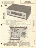 allied radio knight model kn-124 am fm tuner sams photofact manual