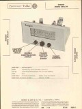 allied radio knight model sx11l719 am fm tuner sams photofact manual