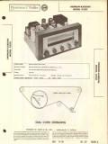 harman-kardon model d200 am fm radio receiver sams photofact manual
