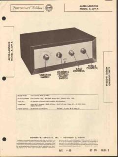 altec lansing model a-339a 3 channel amplifier sams photofact manual