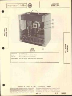 aircastle model 79a musical instrument amplifier sams photofact manual