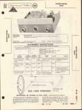 bogen presto model am91 am radio tuner sams photofact manual