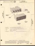 brociner models a100 equalizer ca-2 preamplifier sams photofact manual